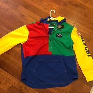 Polo Saranac lake multicolor windbreaker
